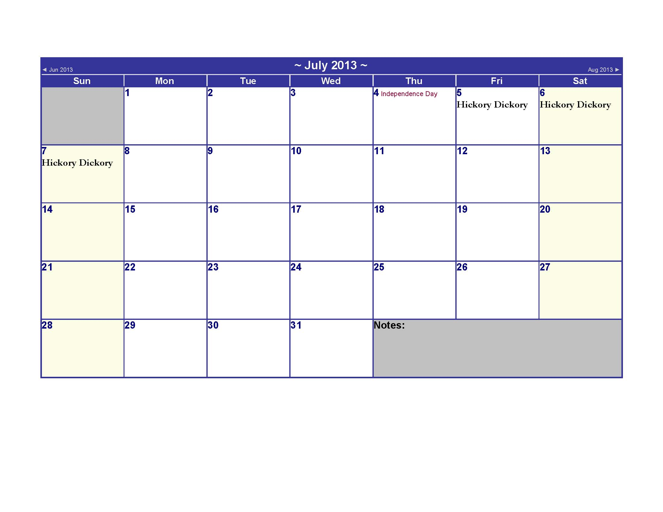 2013 official monthly awareness calendar | just b.CAUSE